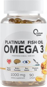 Omega-3 Platinum Fish Oil (90 капс)