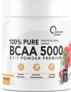 ВСАА 5000 Powder (Клубника, 200 гр)