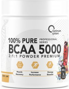 ВСАА 5000 Powder (Вишня-лайм, 200 гр)