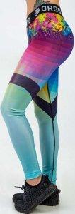 Леггинсы женские ORSO Classic Pixel (Разноцветный, M)