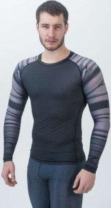 Рашгард с длинным рукавом ORSO Bandage (Черно-серый, L)