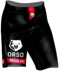 Шорты ORSO ММА Классика (Черно-белый, L)