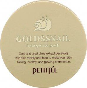 Gold abd Snail Патчи для глаз с экстрактом улитки (60 шт)