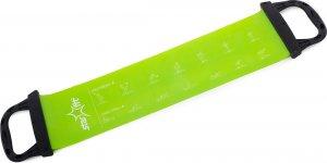 Эспандер ленточный STARFIT ES-202 жесткая ручка (Зеленый)