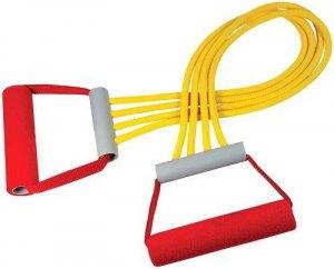 Эспандер плечевой V76 4 струны резиновый