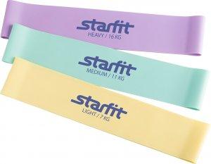 Комплект мини-эспандеров Starfit ES-203 (Пастельный)