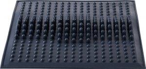 Коврик массажный резиновый для стоп (Черный)