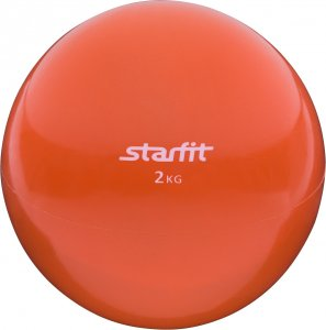 Медбол GB-703 2 кг (Оранжевый)