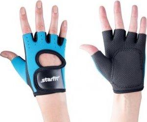 Перчатки атлетические Starfit SU-107 (Сине-черный, L)
