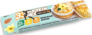 33 Protein Rex Low Carb (Миндальный маффин, 35 гр)