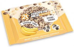 Протеиново-злаковые хлебцы Protein Rex Crispy (Банановый трайфл, 55 гр)