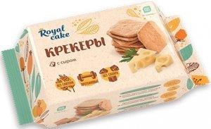 Протеиновые крекеры Royal Cake (Сырный, 84 гр)