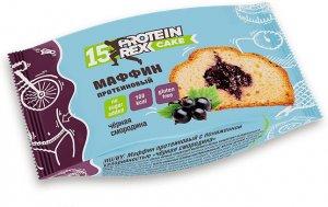 Протеиновый маффин ProteinRex (Черная смородина, 40 гр)