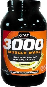 Гейнер Muscle Mass 3000 (Клубника, 1300 гр)