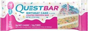 Quest Bar (Праздничный торт, 60 гр)