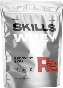 Skills Whey (Карамель-клубника, 900 гр)
