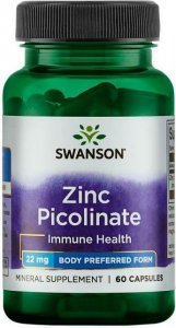 Zinc Picolinate Perfect 22 mg (60 капс)